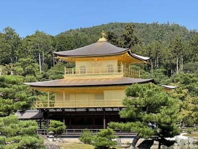 夏のような秋を楽しむ京都、観光編、前編。