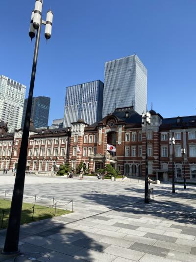 東京美術館巡り 東京ステーションホテルとThe Okura Tokyo