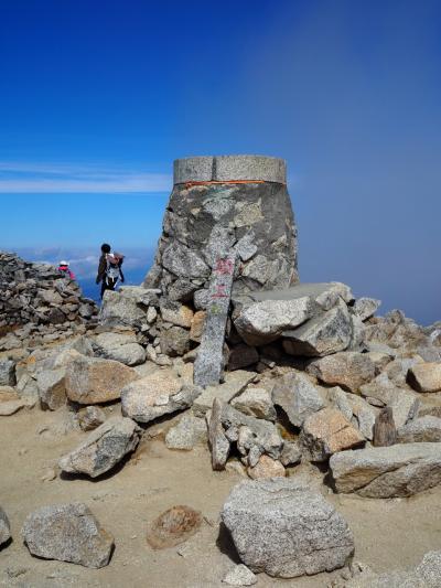 紅葉の千畳敷カール一人旅2*・゜・*ついに木曽駒ケ岳(標高2956m)の頂上へ*・゜・*