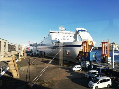 たまにはベタな御船印めぐりvol.17 「太平洋フェリー(名古屋~仙台)で22時間を過ごしました。」   ~愛知&宮城~