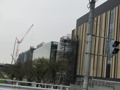 中外ライフサイエンスパーク横浜の建設状況