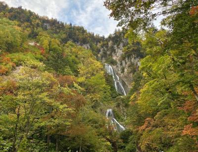 秋の訪れを感じる美瑛・富良野 (3) - 天人峡の羽衣の滝、フェルムラテール、ニングルテラス