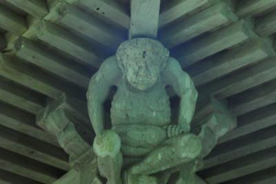 秋田の力士を見に行く4。 (新波神社)