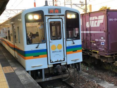 2021年10月九州鉄道旅行5(肥薩おれんじ鉄道再完乗のつもりが)