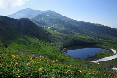 鳥海山から眺めるご来光 山小屋泊登山