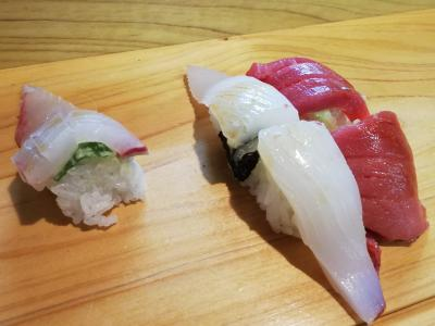 久々のよろずやの寿司はわさびがガツンときたぜ@所用の手伝いで呼ばれて天草へ【2】