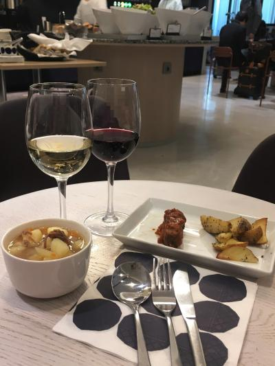 *19 マドリードからヘルシンキを経由してモスクワへ♪ ヘルシンキ☆ヴァンター国際空港のショップ&フィンエアーラウンジの北欧料理♪