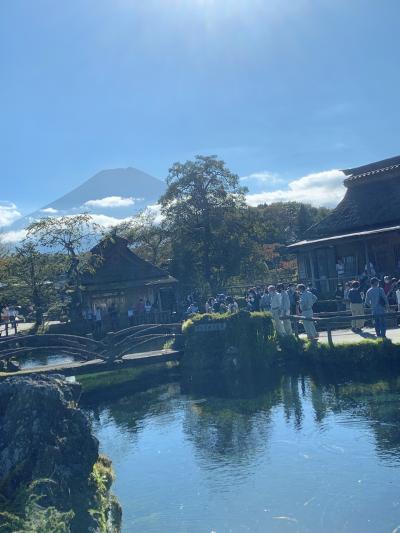 富士マリオットホテル山中湖と新倉山浅間公園