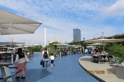 池袋西武百貨店9階にある「食と緑の空中庭園」を久し振りに訪問・・④