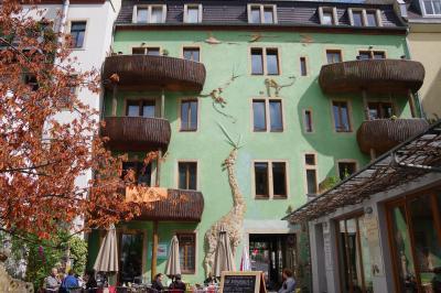 北ドイツの小さな街めぐり(11) ドレスデンのクンストホーフパッサージュ