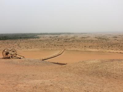 初めての中国 シルクロードの旅 4 河西回廊のオアシス敦煌(国境の関所 陽関)