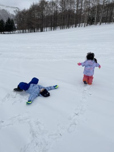 北海道雪遊び(⁈)旅行