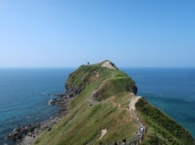 酷暑!北海道旅行(2)積丹でウニ丼と積丹ブルーを満喫