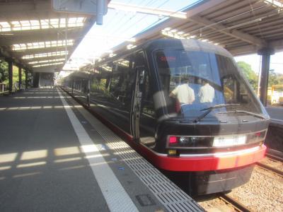黒船電車に乗って宇佐美で途中下車 来宮神社にも行ってきた