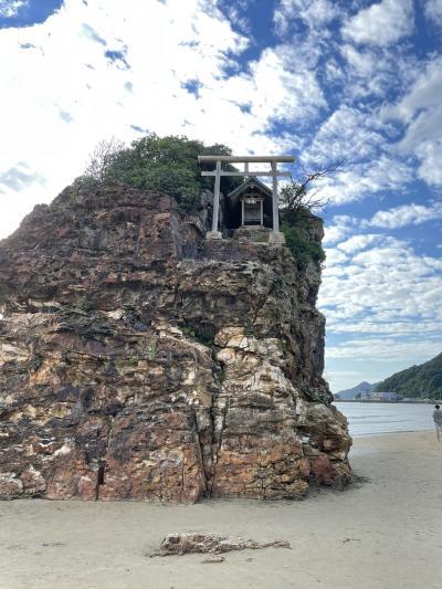 秋の鳥取、島根を旅する4-出雲大社、稲佐の浜、日御碕を巡る-