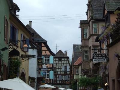 中世の街並みを残す村を散策 リクヴィール No6