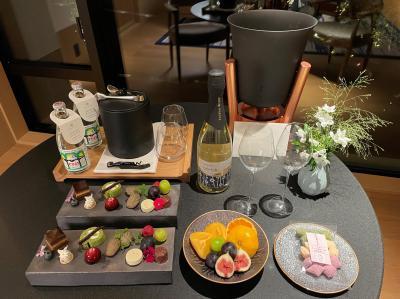 『ROKU KYOTO, LXR Hotels & Resorts』宿泊記②クラブラウンジ替わりの【Tea House】でカクテルタイムを♪