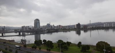松江から出雲大社 宍道湖、出雲サイクリングロードを走る