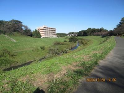 流山市の東深井・運河散策の森・眺望の丘公園