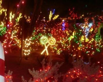 ネバダ州 ラスベガス - 12月はクリスマスムード