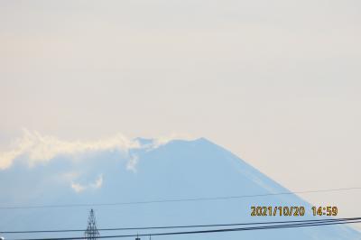 ふじみ野市から見られた富士山③