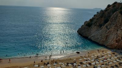 トルコの美しすぎるビーチ(No.2 カプタスビーチ)
