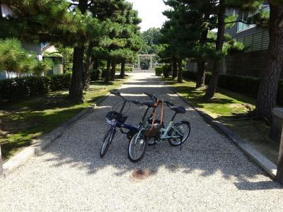 冷や水サイクリング 百舌鳥・古市古墳群・上、仁徳天皇陵