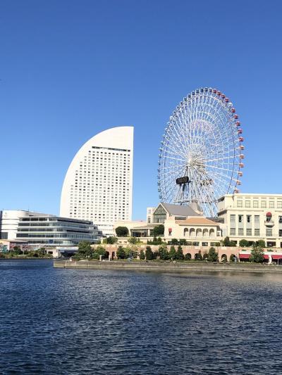 愛知発、横浜ベイエリア散策とと味スタサッカー観戦⚽️