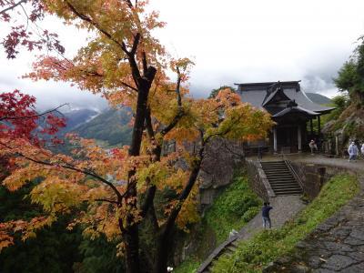 飛行機と新幹線で行く秋の日帰り山形旅行