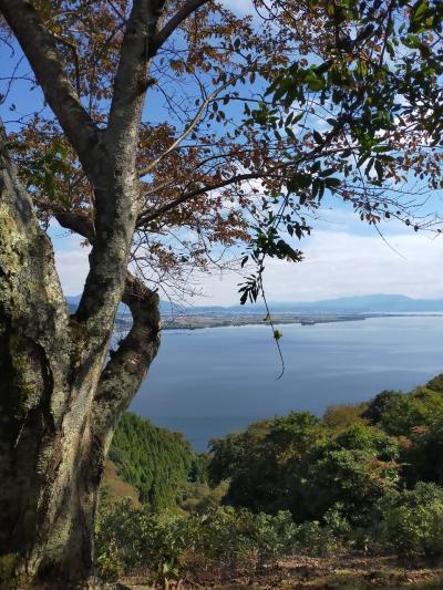 バイクで奥琵琶湖に行って来た。