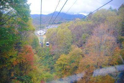 紅葉刈りで裏磐梯へ。 その2 綺麗な紅葉にうっとり。