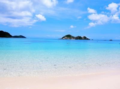 2021.夏② 阿波連ビーチ シュノーケリング♪ 青い空 白い砂 トカシキブルー! お魚いっぱい… ぼっち旅!