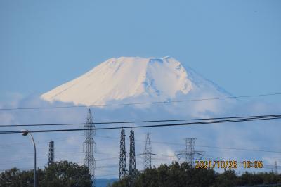 美しかった富士山