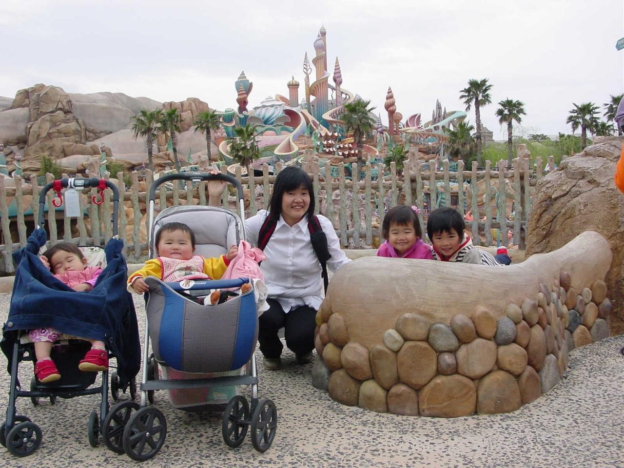 子連れ2組tdrツアー』東京ディズニーリゾート(千葉県)の旅行記
