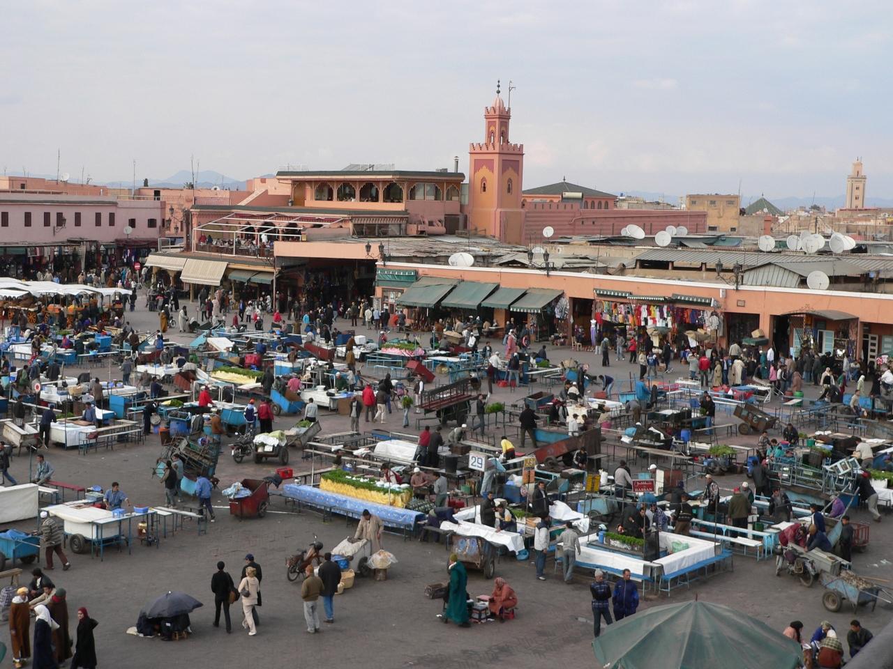 モロッコの旅(3)・・モロッコ...