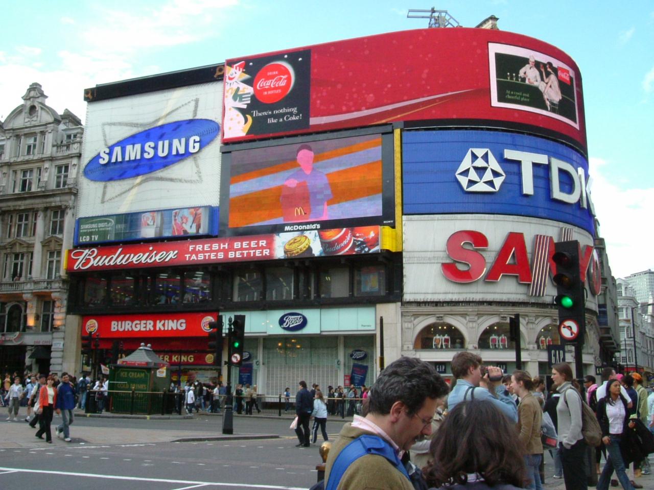 2004年ロンドン 市内観光1』ロン...