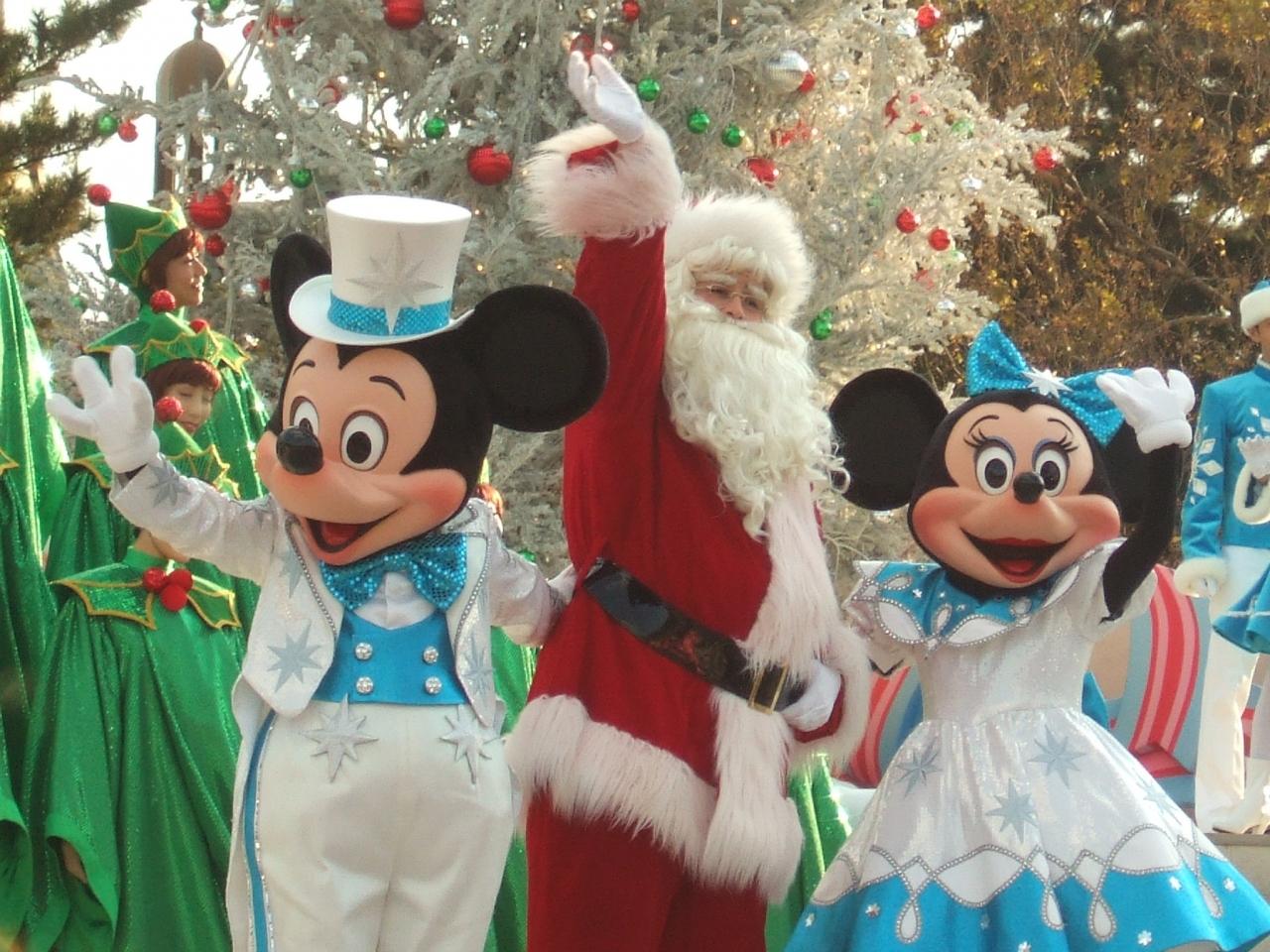 クリスマスイベント 東京ディズニーランド?』東京ディズニーリゾート