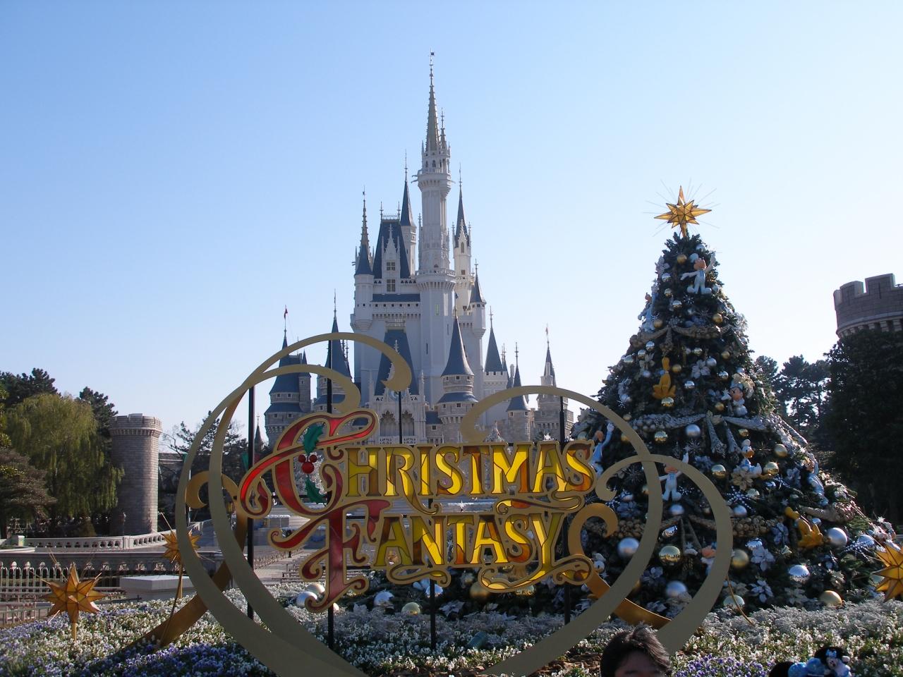 東京ディズニーランドのクリスマス』東京ディズニーリゾート(千葉県)の