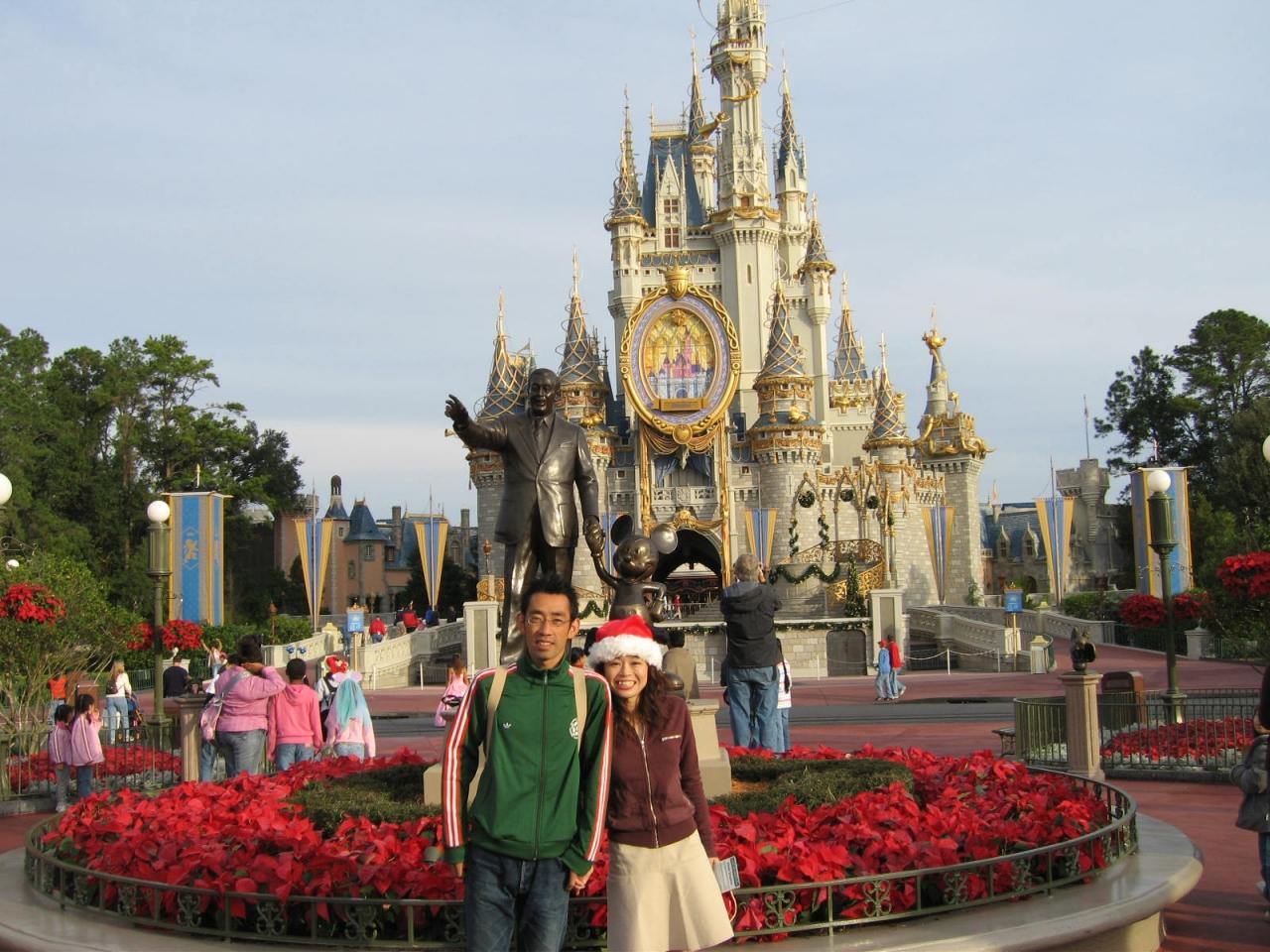 新婚旅行再現の旅♪ ~magic kingdom park編~』オーランド(アメリカ