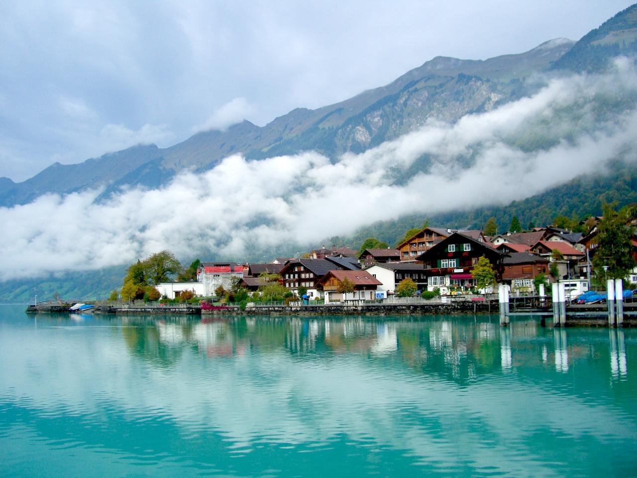 スイス鉄道の旅(ブリエンツ湖遊...