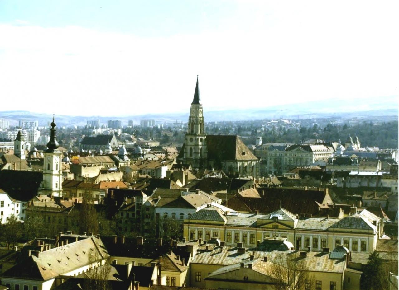 ルーマニア:クルージ・ナポカで...