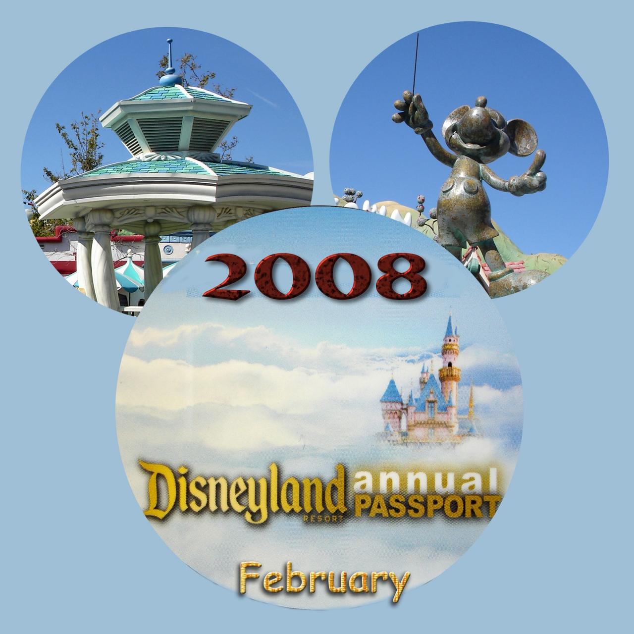 2008 disneyland resort february』ディズニーランド周辺(アメリカ)の