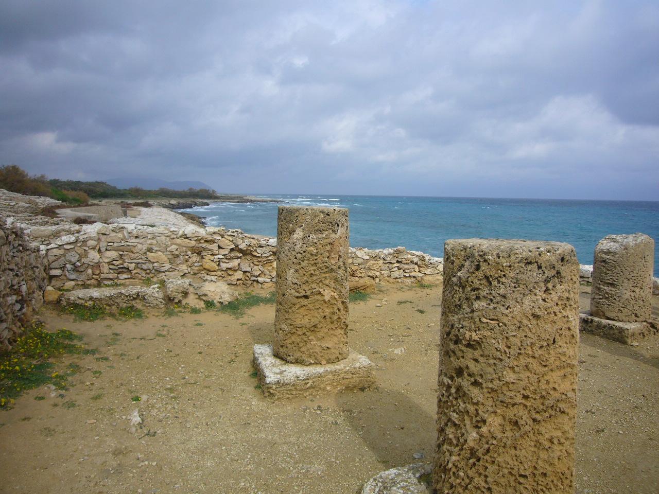 '08 チュニジア周遊の旅~(15)フェニキア人の遺跡、ケルクアン