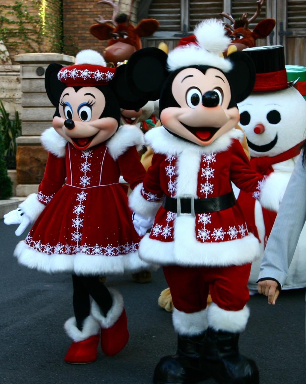 クリスマスなディズニーシー日帰りの旅』東京ディズニーリゾート(千葉県