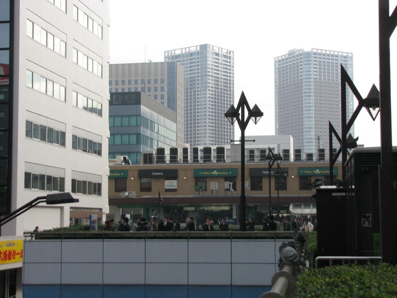 『東京・田町駅付近の風景』三田・田町・芝浦(東京)の旅行記 ...