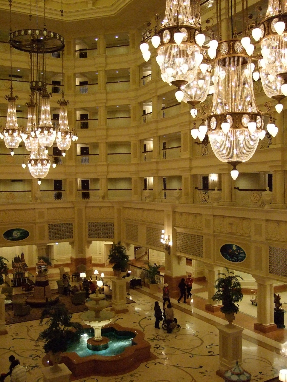 ディズニーランドホテル パークサイドビュー【1】』東京ディズニー