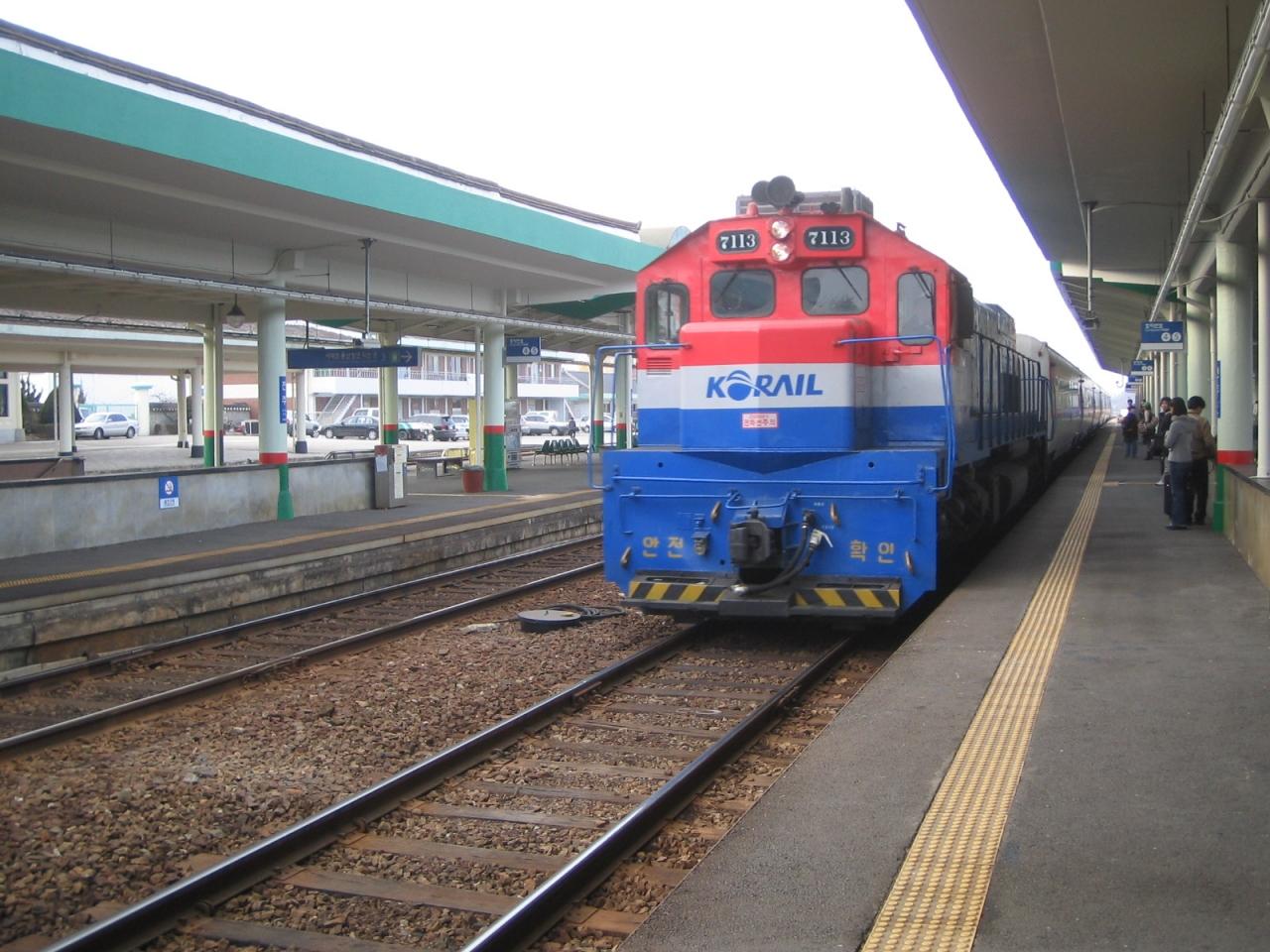 韓国鉄道旅行記'06(釜山→大田→...