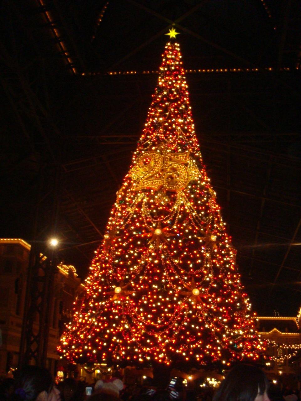 東京ディズニーリゾート 25周年 クリスマス☆?』東京ディズニー