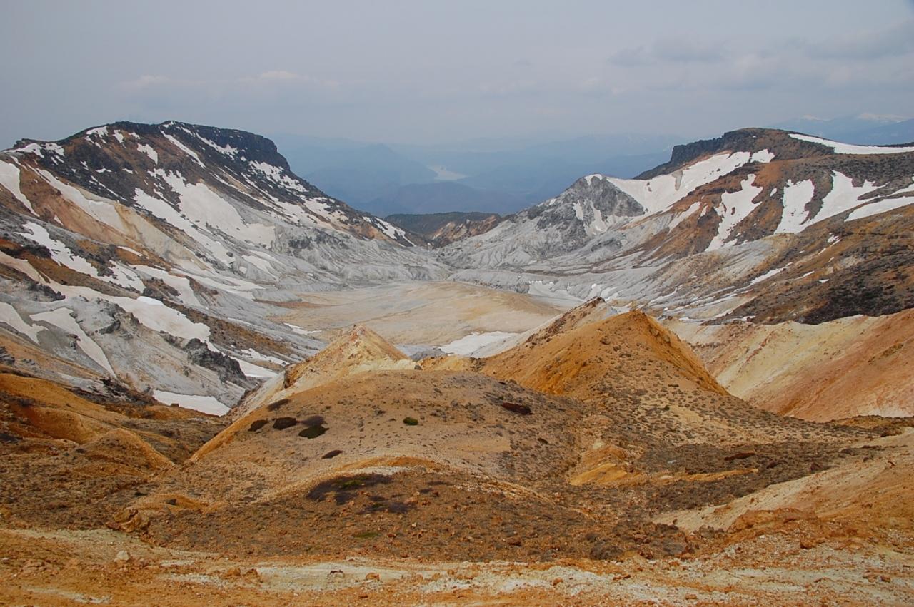 安達太良山が乳首山と呼ばれるの...