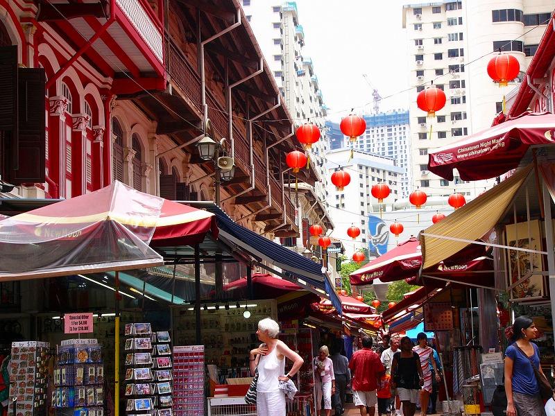 チャイナタウンinシンガポール』...